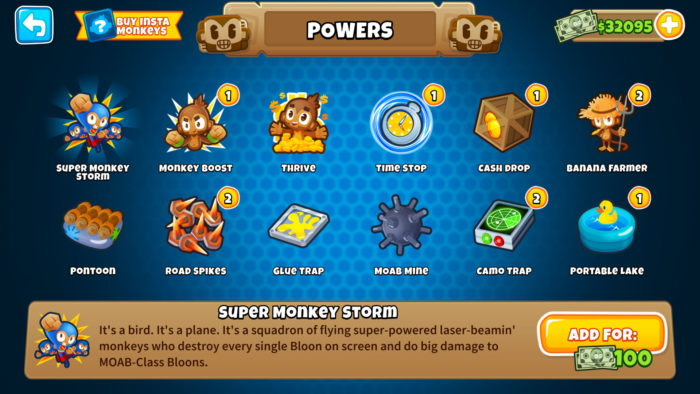 btd 6 powers